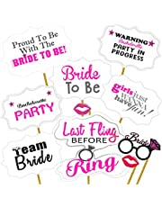Partypropz Bride To Be Photobooth Props 10 Pcs