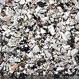BEKATEQ BK-610PU Steinteppich Set 1K Wand Aussen Treppe Balkon | 25kg Marmorkies + 4kg 1K PU als Bindemittel, Grundierung, Versiegelung (Grigio Perla Venoto)
