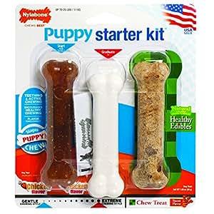 Nylabone Puppy Starter Kit - Pack of 3