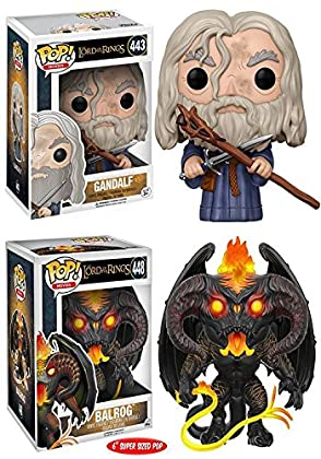 Funko POP! The Lord Of The Rings: Gandalf + Bal...