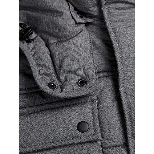 Jack & Jones Jcocam Puffer Jacket, Blouson Homme Gris