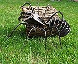 3D Spinne Garten Deko Dekoration Metall Stahl
