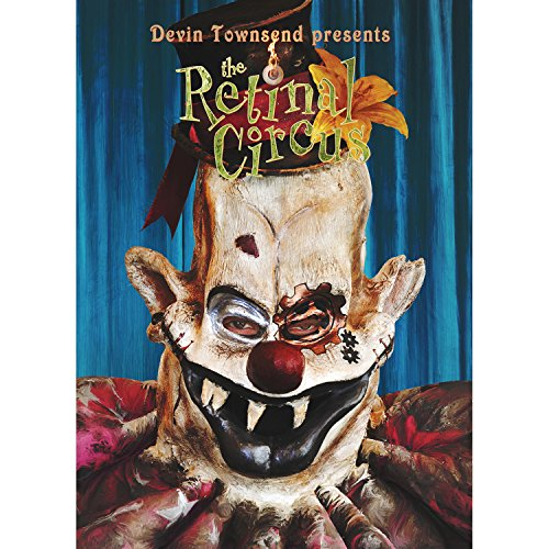 Circus Leinwand (Devin Townsend - The Retinal Circus (Limited Edition, 5 Discs) [Blu-ray, DVD, CD])