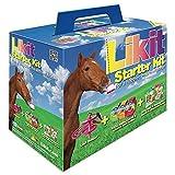 Likit starter kit per cavalli in glitter rosa. Ottimo modo per intrattenere il cavallo