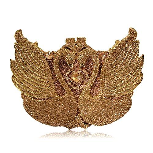 Diamante di lusso Borse sera Ladies preferito borsetta party di nozze portamonete della frizione C