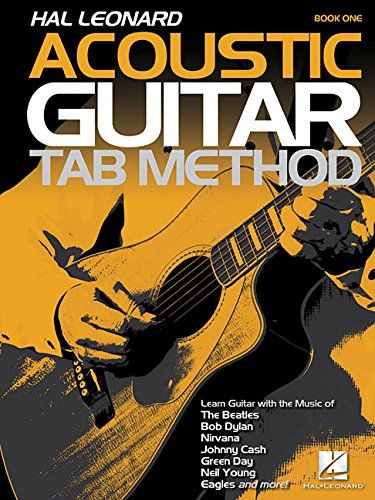 Hal Leonard Acoustic Guitar Tab Method Book 1 Gtr Bk Only
