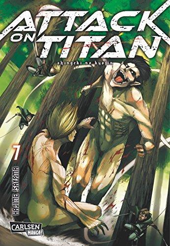 Buchseite und Rezensionen zu 'Attack on Titan, Band 7' von Hajime Isayama