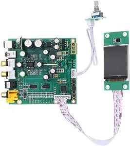 LCD Display ES9038 Q2M DAC DSD Decoder Support IIS DSD Coaxial Fiber input