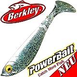 Berkley Power Bait Pulse Shad Pez de goma 8cm Sparkle Pearl 5unidades en Set Nuevo 2016