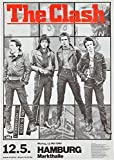 The Clash reproduction Concert photo affiche 40x30cms