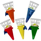 THE TWIDDLERS 48 Mini Click & Catch Cones Game | Ideale per Pinata Stuffers | Fillers Calza di Natale | Borsa bottino per Fes