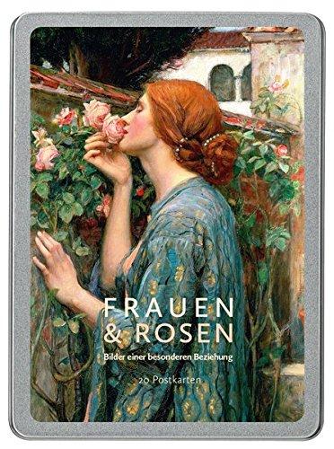 Frauen und Rosen: Grußkarten-Box -
