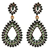 Funky Monkey Ethnic Collection Green Rhi...