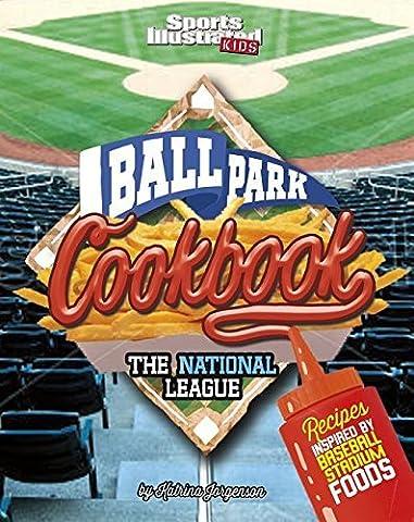 Ballpark Cookbook The National League: Recipes Inspired by Baseball Stadium Foods (Ballpark Cookbooks) by Katrina Jorgensen (2016-01-01)