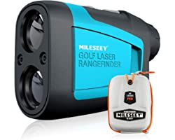 MiLESEEY Professional Precision 660Yards Golf Range Finder Devices with Slope Compensation,±0.55yard Accuracy,Fast Flagpole L