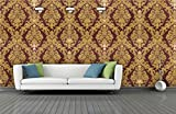 #1: BDPP Washable Vinyl Coated Imported Mettalic Wallpaper-W26(Covers approximately 50 square. Feet.)