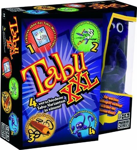 Hasbro Spiele 04199100 - Tabu XXL, Partyspiel - 4