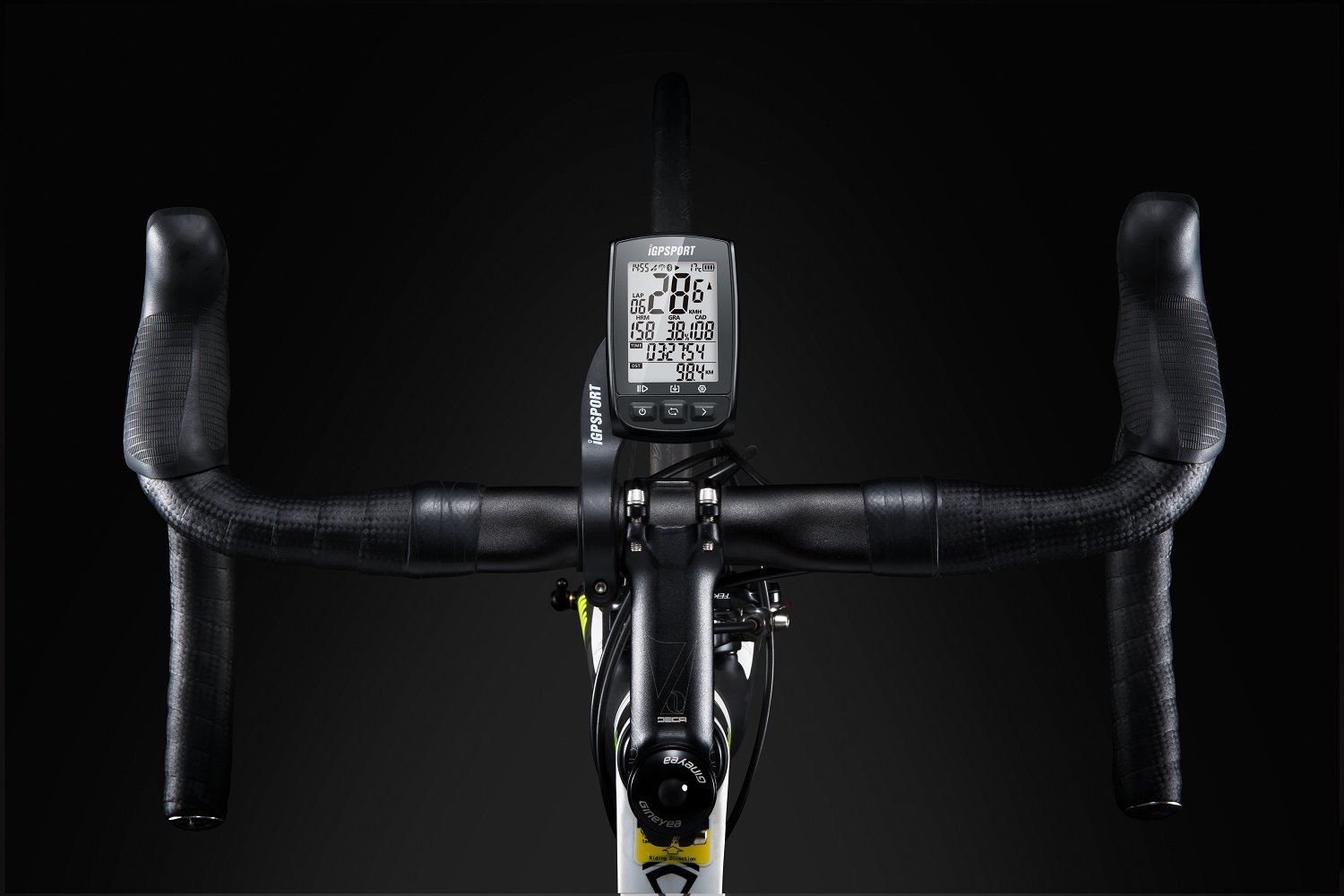 61gz2W8ZbDL - IGPSPORT GPS Bike Computer iGS50E Wireless Cycle Computer Waterproof Compatible Speed Cadence Heart rate Sensor (Not…