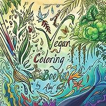 A Vegan Coloring Book (Vegan coloring books by Alev)