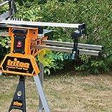 Daptez® Extension Barres - Sjaeb Superjaws XXL Côté Rouleau Support Portable Bricolage