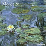 Monet 2018 - Kunstkalender, Broschürenkalender, Wandkalender, Impressionismus  -  30 x 30 cm