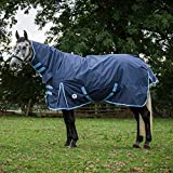 Derby House Classic Medium Combo Turnout Rug 5ft6 Navy Placid Blue