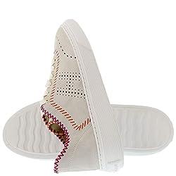 Hogan H365 Zapatillas Zapatos Sneaker Sneakers Shoes de Caucho para Mujer Woman Beige Size 36 EU