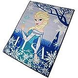 Disney Spielteppich - Kinderteppich - Teppich - Läufer 133x95cm mit Motivauswahl (Frozen Elsa)