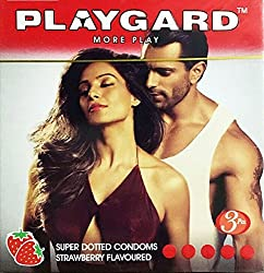 PlayGard Condoms strawberry 3s - Climax delay Condoms (4)