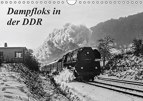 Dampfloks in der DDR (Wandkalender 2017 DIN A4 quer): Einige stimmungsvolle Aufnahmen vom planmäßigen Dampflokbetrieb um das Jahr 1980, in der DDR (Monatskalender, 14 Seiten ) (CALVENDO Technologie)