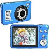 Cámara Digital 30 MP Camara de Fotos Digital Compacta 1080P Camara de Fotos con 8x Cámaras Zoom Digital para Adultos, Niños,