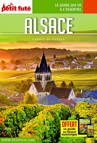 Guide Alsace 2018 Carnet Petit Futé