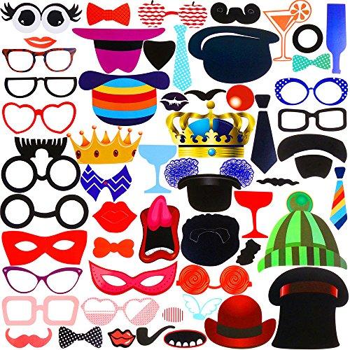 faburo-58pcs-photo-booth-atrezzo-favorecer-incluyendo-bigotes-gafas-pelo-sombreros-labios-etc-para-e
