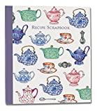 RECIPE SCRAPBOOK - Teapots Design - Recipe Organiser Scrapbook