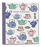 RECIPE SCRAPBOOK - Teapots Design - Recipe Organiser Scrapbook