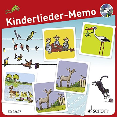 Kinderlieder-Memo +CD par Divers Auteurs