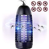 T98 Insektenvernichter,UV Insektenfalle Mückenkiller 6W Leuchtstoffröhre Moskito Lampe,Elektronischer Mückenschutz Effektiver und intelligenter Insektenabwehr Ungiftig Nichtchemikalien für Innen