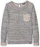 Petrol Industries Mädchen Sweatshirt G-SS18-SWR180, Grau (Marble Melee 9009), 16 Jahre