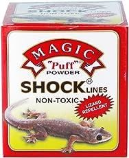 Magic Shock Lines Herbal Lizard Repellent Puff Powder
