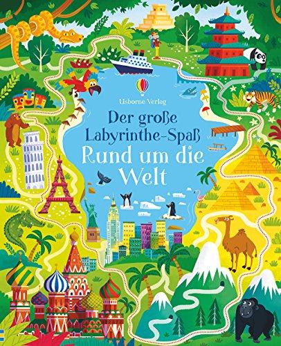 Der große Labyrinthe-Spaß: Rund um die Welt