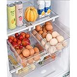 Boîte de rangement pour réfrigérateur – Boîte de rangement transparente pour aliments frais en plastique, rangement cuisine,