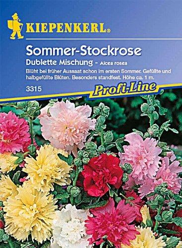 Sperli Blumensamen Stockrose Dublette Mischung, grün
