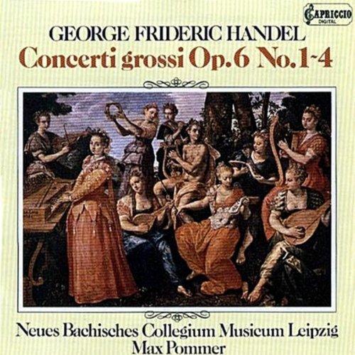 Concerto Grossi Opus 6 (4) by G.F. Handel