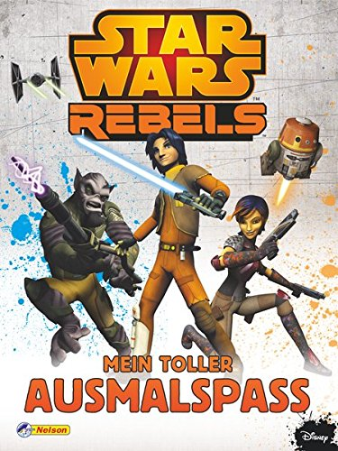 Star Wars Rebels - Mein toller Ausmalspaß