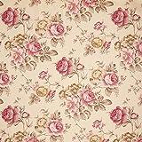 Fabulous Fabrics Dekostoff Ottoman Rosen - Hellbeige -