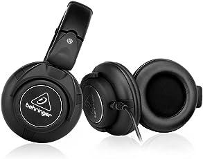 Behringer HPX6000 DJ Headphones (Black)