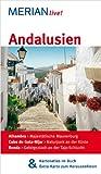 Andalusien: Mit Kartenatlas im Buch und Extra-Karte zum Herausnehmen (MERIAN live) - Harald Klöcker