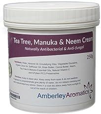 Tea Tree, Manuka & neem Cream 250g–antibatterico e anti-fungini pelle crema