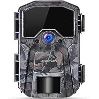 APEMAN Wildkamera 20MP 1080P Infrarot-Nachtsicht Jagdkamera mit 940nm LEDs, Zeitraffer, Zeitschaltuhr, IP66 Wasserdicht