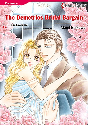 THE DEMETRIOS BRIDAL BARGAIN (Harlequin comics)